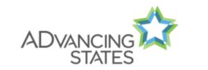 Advancing states logo