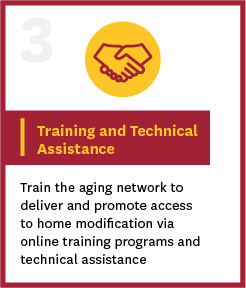 training and technical assistance information button